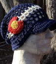 Colorado summer hemp beanie hat