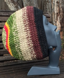 hemp mid weight tam beanie hat