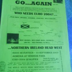 Jonny Blair and Michael McClelland HWGA Northern Ireland fans