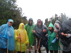 Jonny Blair the travelling Northern Irishman hiking the Inca Trail in Peru in 2010 a lifestyle of travel