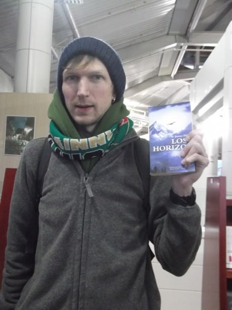 Jonny Blair bought Lost Horizon by James Hilton in Yunnan Province