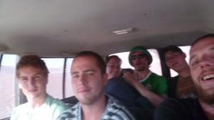 Jonny Blair of Don't Stop Living on the Salar de Uyuni tour in Bolivia