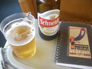 Beer on the Seacat to Buenos Aires