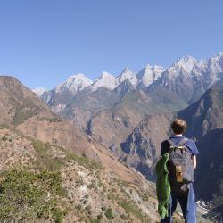28 bends Upper Trail hike China