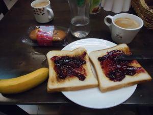 Masada backpackers free breakfast Kota Kinabalu