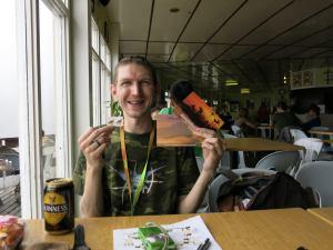 Guinness at Laban Rata Mount Kinabalu Malaysia