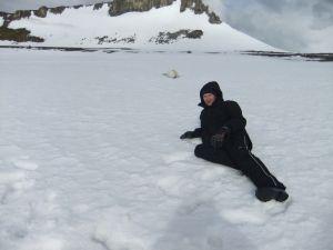 jonny blair in antarctica in 2010