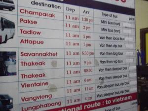 don det bus timetable
