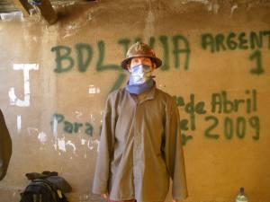 Jonny Blair in Potosi Bolivia
