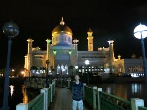 mosque in bandar seri begawan brunei