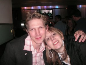 Zoe Oakley and Jonny Blair in Bournemouth England