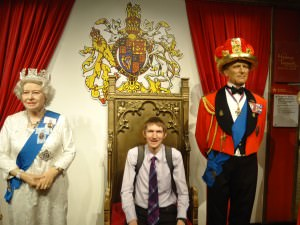 Myself and the Queen and Prince Philip.