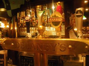 work drinks in delaneys