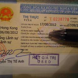 vietnamese visa in hong kong