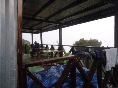 waras hut balcony