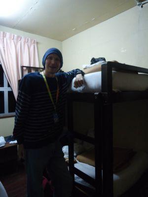 laban rata waras hut bedroom