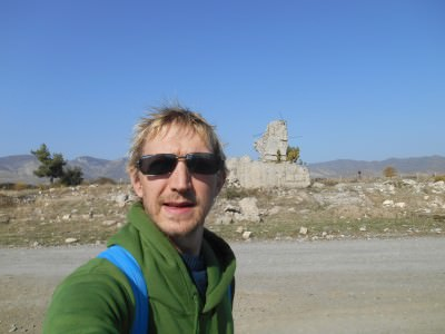 Backpacking in Agdam, Nagorno Karabakh