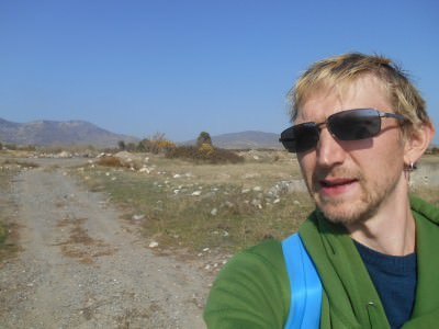 Hitch hiking back from Agdam, Nagorno Karabakh