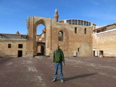 Inside the Ishak Pasha Palace near Dogubayazit, Turkey