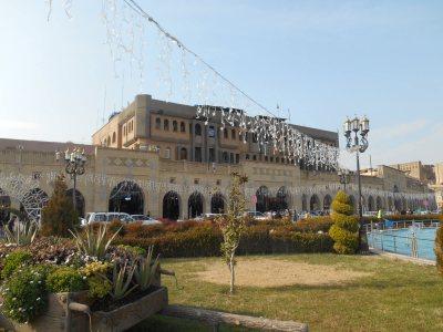 erbil bazaar and gardens