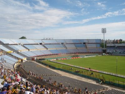 View from Olimpica end.