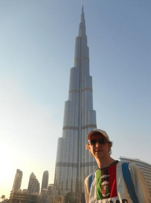 burj khalifa on the cheap uae