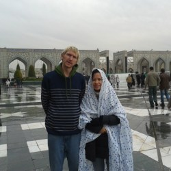 imam reza iran backpacking