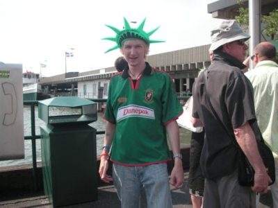 Me as a backpacker in the USA in 2007!