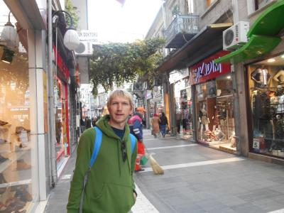 jonny blair backpacking in trabzon turkey