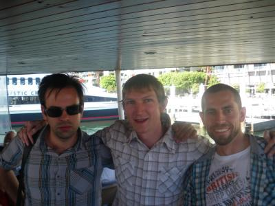 With Daniel and Michael - the lads.