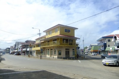 Downtown Paramaribo - a really cool capital city to check out.