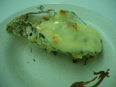 Friday's Featured Food: Cheese Oysters in Tai O, Hong Kong.