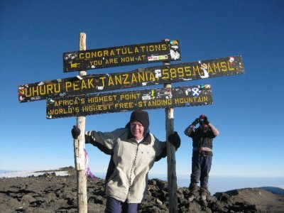 Amazing. Inspiring. Epic. Mapping Megan at the top of Mount Kilimanjaro in Africa!