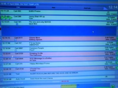 The automated myriad system - Jonny Blair on the air