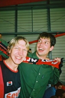 At the football with John Johnson - Bournemouth v Bristol City in August 2004. Later that night, he f**ked a donkey.