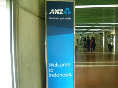 Arrival in Jakarta, Indonesia