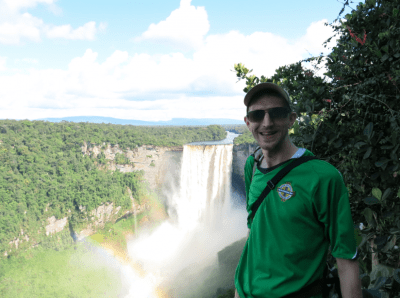 Kaieteur Falls, Guyana - highest single drop waterfall in the world.