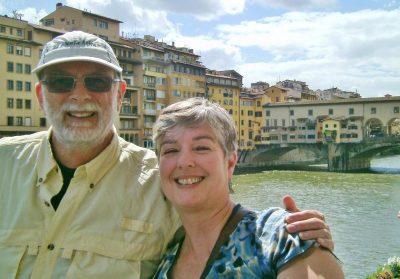 World Travellers: Chris and Danila in Florence - Not Dun Roamin'