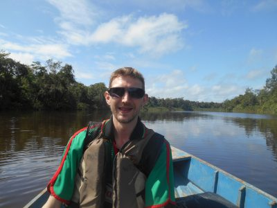 touring suriname backpacker