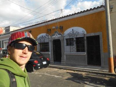 Outside Posada Belen Museo Inn