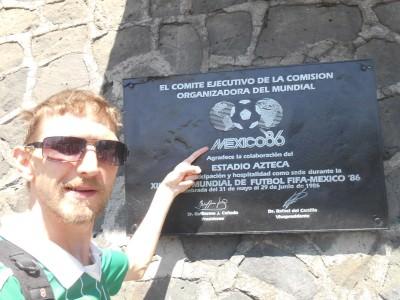 Mexico 86 Plaque