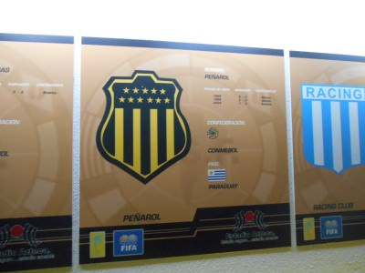 The Penarol error on the Wall of Fame.