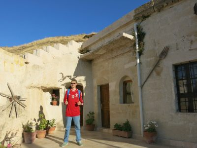 Staying in a Cave Villa in Goreme!