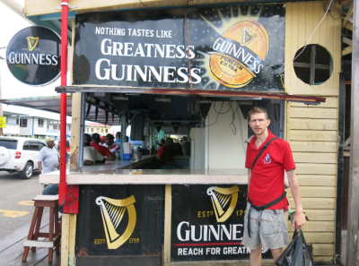 Fat Head's Bar, Parika, Guyana.