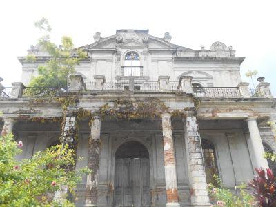 Ruins at Parque Colon