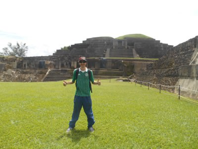Touring the ruins of Tazumal in Chalchuapa - inspiring place.