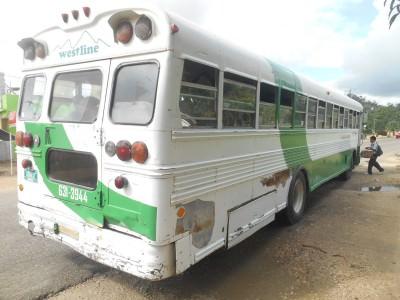 Bus from Belmopan to Teakettle