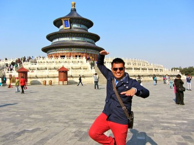 World Travellers: Raphael Doing Kung Fu in China