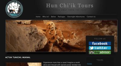 Hun Chi'ik Tours - the cool company we used to tour Actun Tunichil Muknal