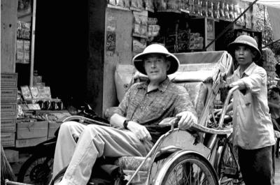 World Travellers: The Quiet French-American, Hanoi, Vietnam.